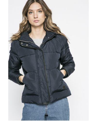 Стеганая куртка утепленная с капюшоном прямая Lee