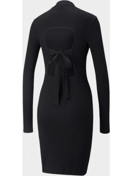 Платье макси длинное - черное Puma