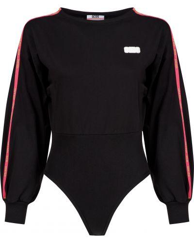 Боди блуза черное Gcds