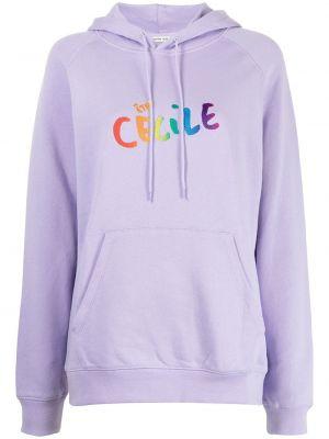 Худи длинное - фиолетовое être Cécile