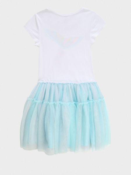 Платье из фатина - белое Billieblush