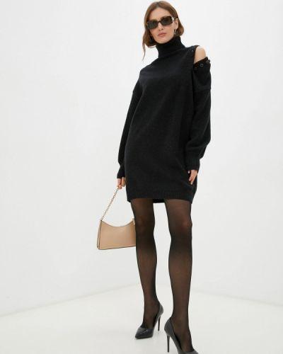 Вязаное платье - черное By Swan