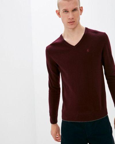 Бордовый пуловер Conte Of Florence