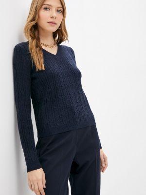 Синий пуловер Goldrai