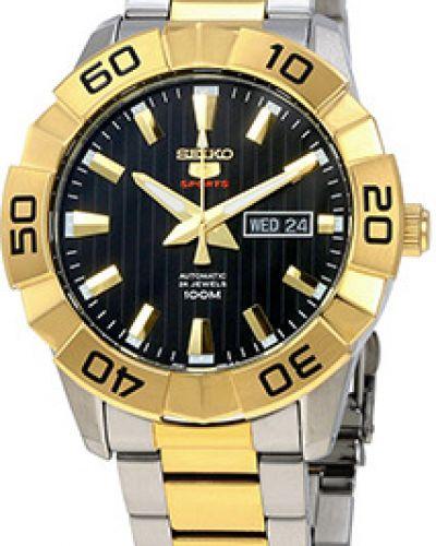Часы механические водонепроницаемые стрелочные Seiko