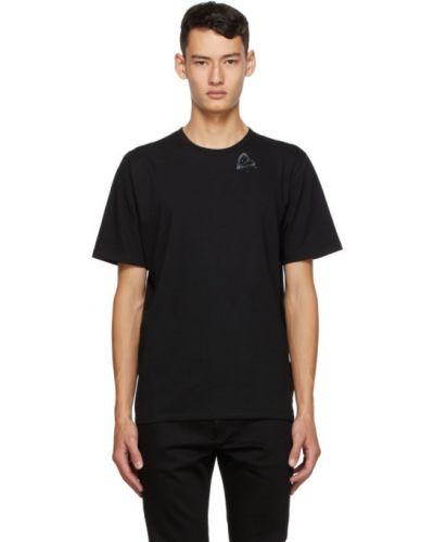 Bawełna czarny koszula z krótkim rękawem z kołnierzem krótkie rękawy Saint Laurent