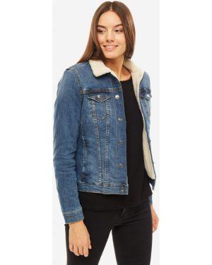 Утепленная куртка джинсовая Tom Tailor Denim