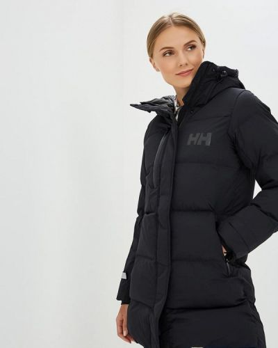 Утепленная куртка демисезонная черная Helly Hansen