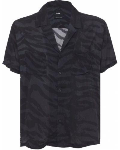 Czarna koszula z printem Other
