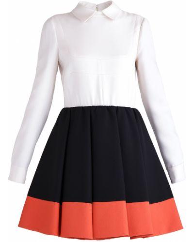 Платье с отложным воротником пышное Valentino
