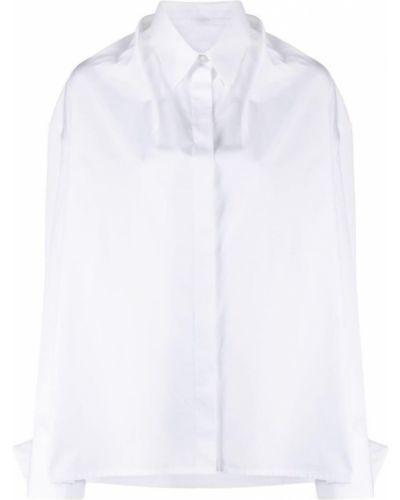Biała koszula z długimi rękawami - biała Givenchy