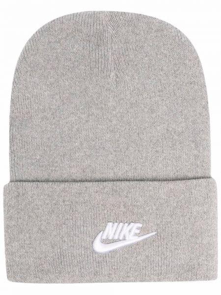 Шапка бини - серая Nike