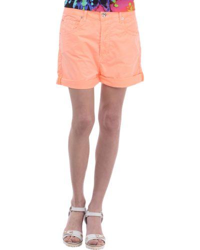 Оранжевые шорты Love Moschino