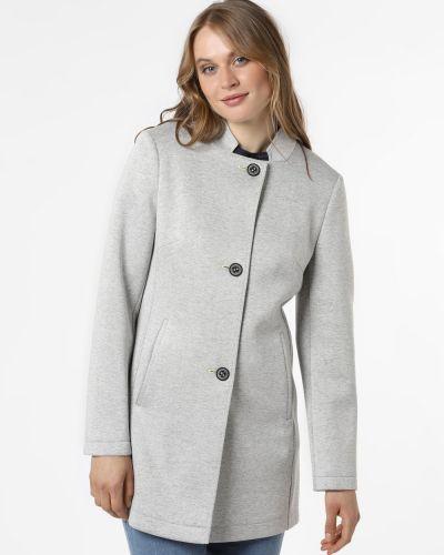 Szary płaszcz z bursztynem Amber & June