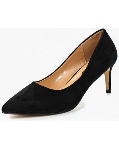 Туфли-лодочки осенние замшевые Vera Blum