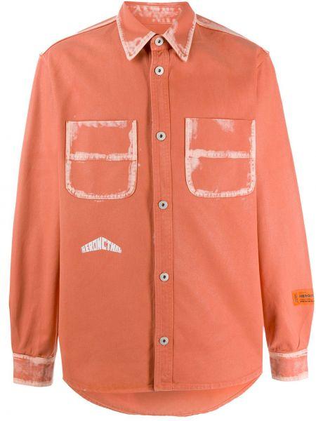 Koszula z długim rękawem klasyczna prosto Heron Preston