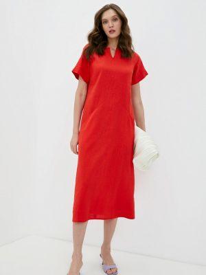Повседневное красное платье Olbe