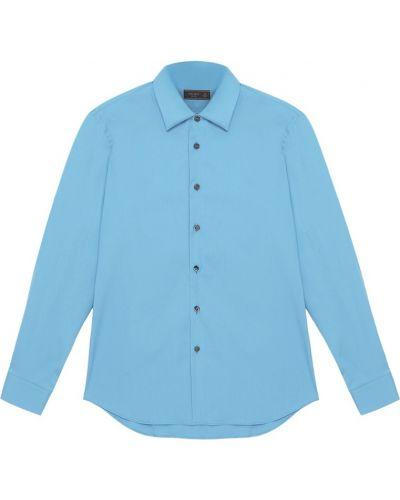 Рубашка стрейч хлопковая Prada