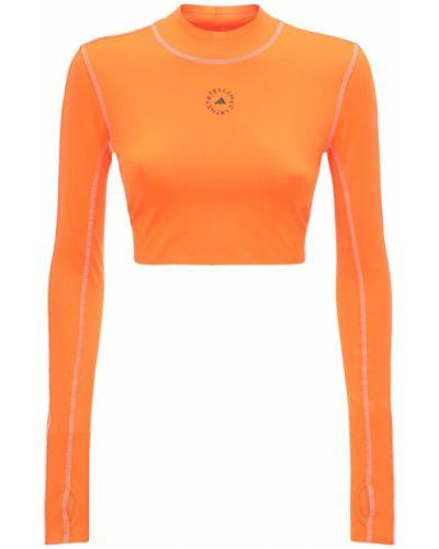 Оранжевый топ Adidas By Stella Mccartney