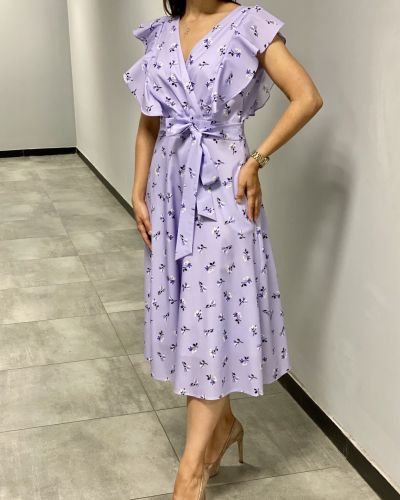 Платье с запахом - сиреневое Espiga