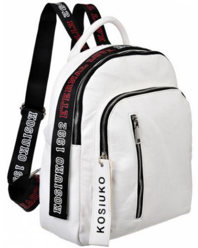 Рюкзак белый из искусственной кожи Vera Victoria Vito