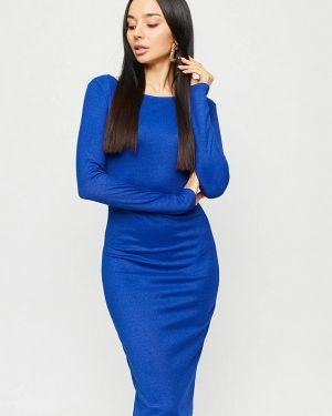 Синее вечернее платье Karree