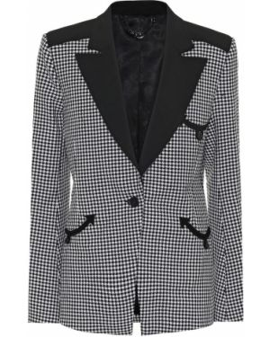 Костюмный черный пиджак Paco Rabanne