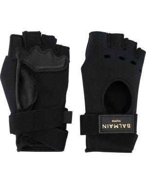 Перчатки митенки черные Puma