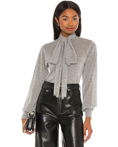 Ватный серый кашемировый свитер Autumn Cashmere