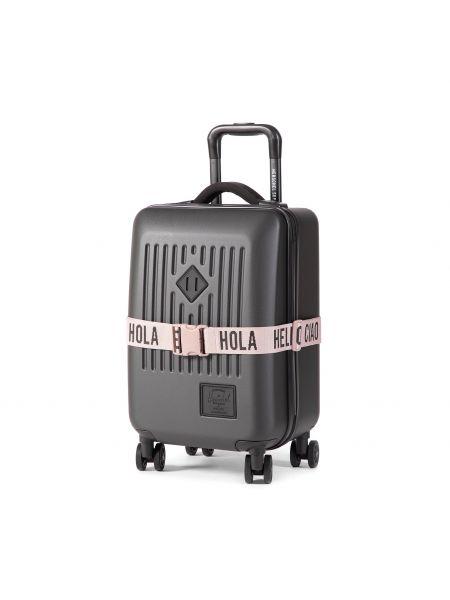 Czarna walizka Herschel
