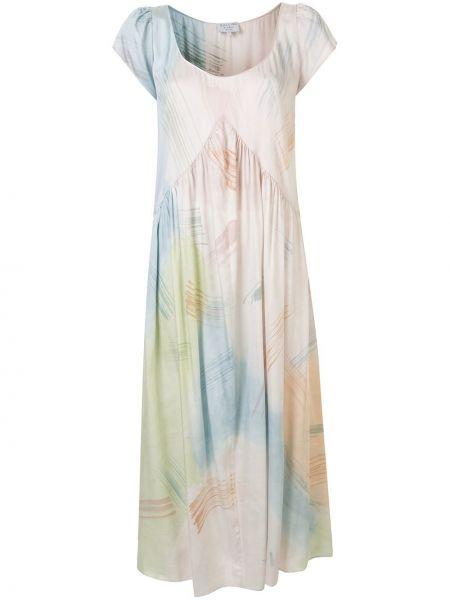 Sukienka rozkloszowana krótki rękaw Collina Strada