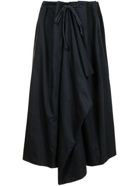 Spódnica ołówkowa bawełniana - czarna Lemaire