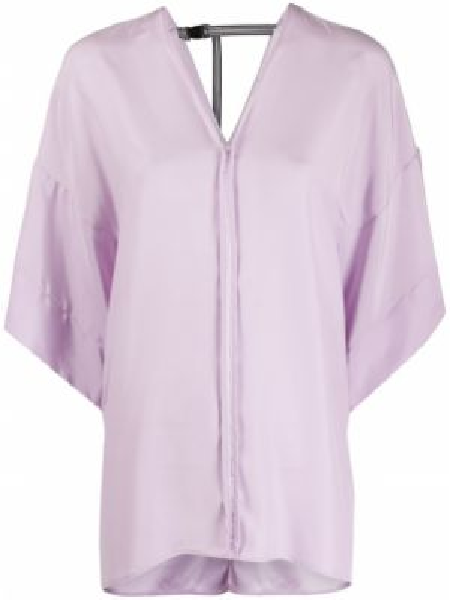Шелковая блузка - фиолетовая A.f.vandevorst