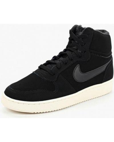 Высокие кеды из нубука Nike