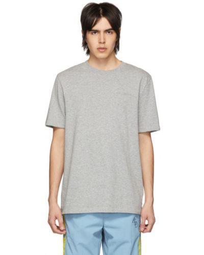 T-shirt bawełniany z haftem krótki rękaw Aime Leon Dore