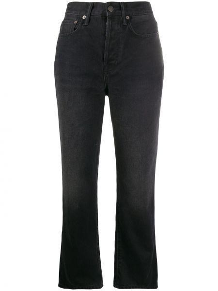 Klasyczny bawełna jeansy na wysokości z kieszeniami wysoki wzrost Acne Studios