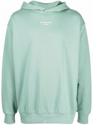 Zielona bluza bawełniana Drole De Monsieur
