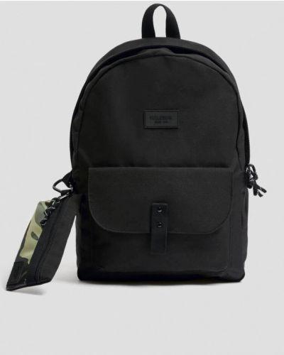 Черный зимний рюкзак Pull&bear