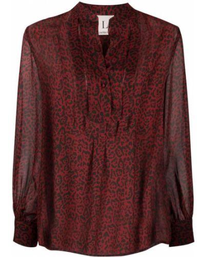 Шелковая рубашка - черная Lautre Chose