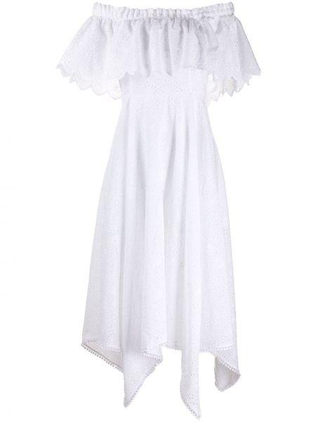 Платье с прозрачными рукавами через плечо Charo Ruiz Ibiza