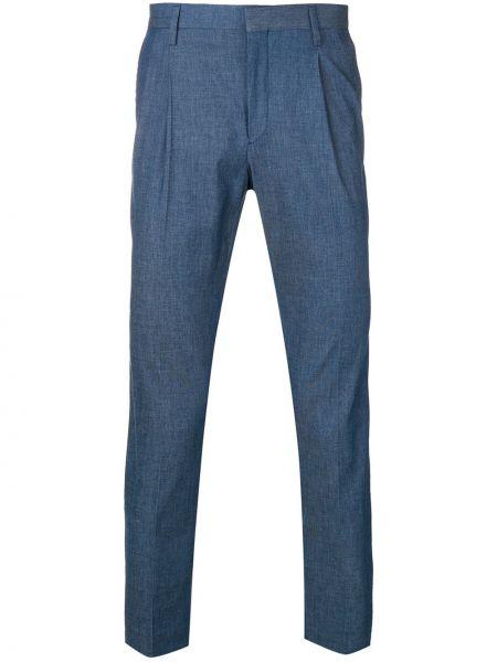 Укороченные брюки пэчворк Entre Amis