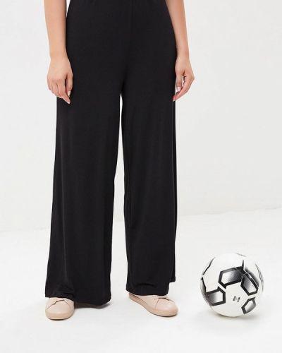 Черные брюки расклешенные Evans