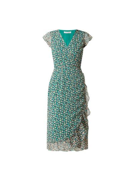 Sukienka rozkloszowana z szyfonu z dekoltem w serek Freebird