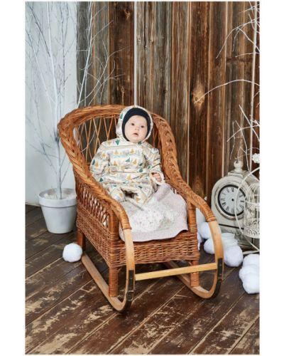 Зимний комбинезон с капюшоном из футера Lucky Child