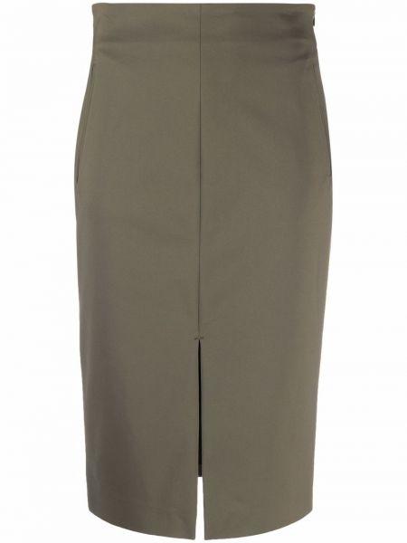 Зеленая юбка из спандекса Lorena Antoniazzi