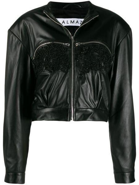 Черная короткая куртка Almaz