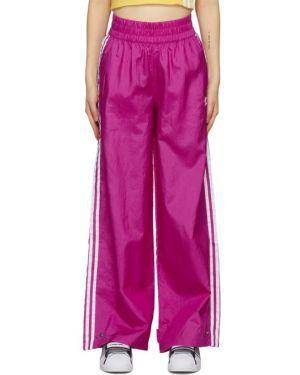 Спортивные брюки розовый с лампасами Adidas Originals