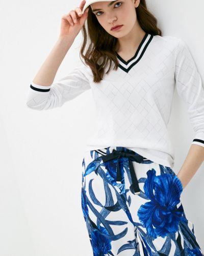Белый свитер Luhta