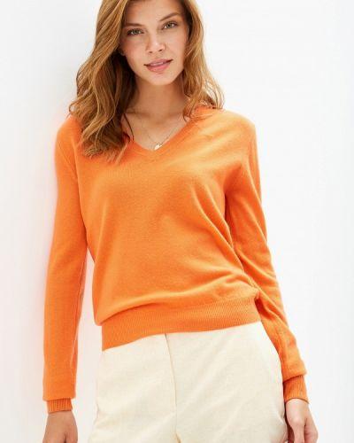 Пуловер оранжевый United Colors Of Benetton