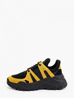 Черные текстильные кроссовки Roobins